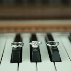 ピアノ指輪